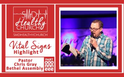 Vital Signs Highlight: Pastor Chris Gray Pt. One